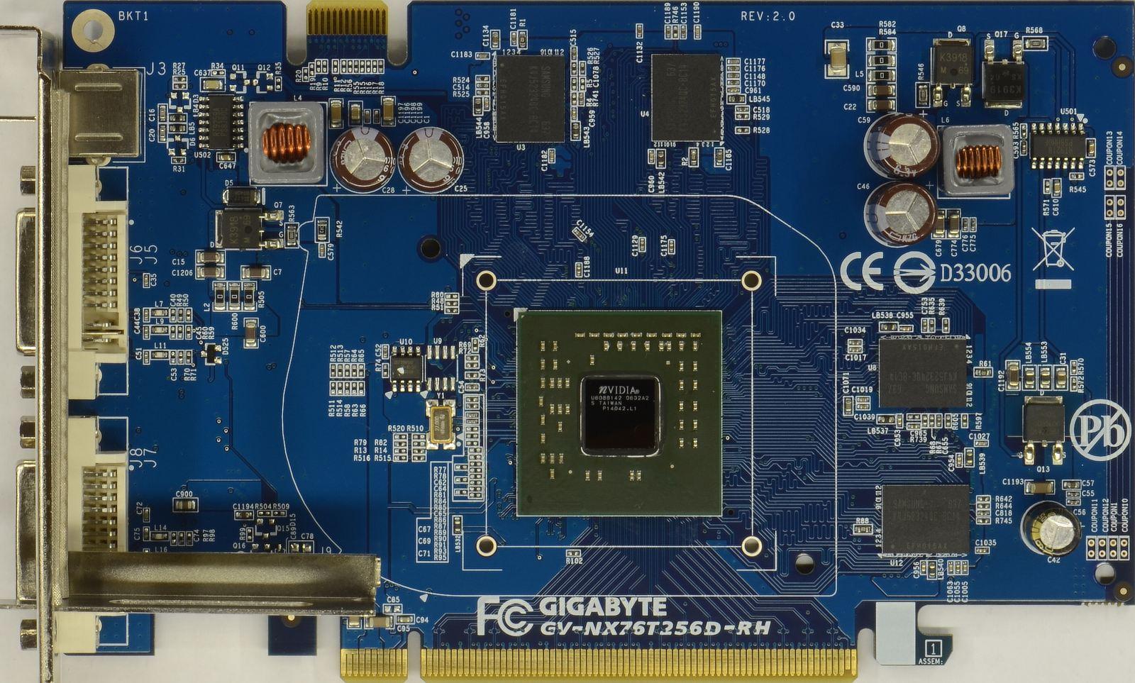 7600 gt принципиальная схема