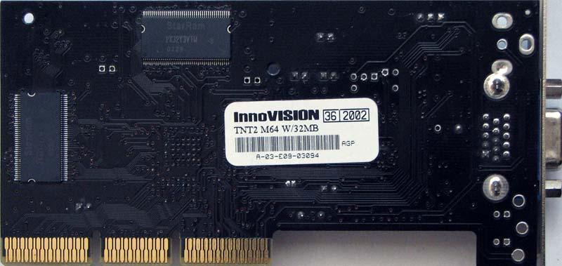 Nvidia tnt2 m64 pci 32m drivers for windows 7.