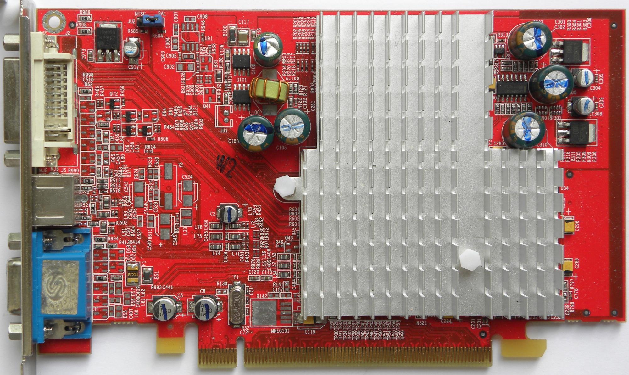 Ati Radeon X550