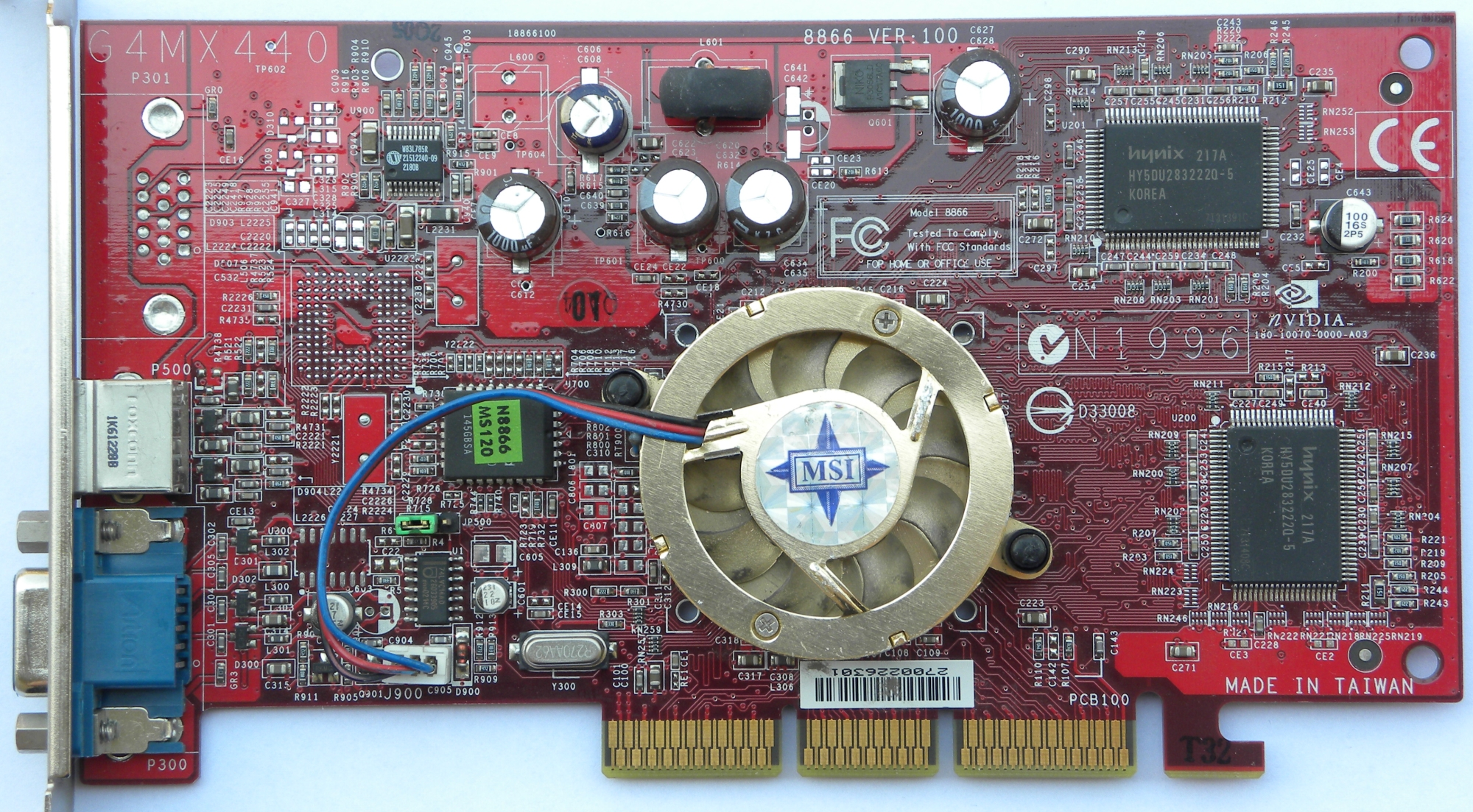 NVIDIA GeForce4 MX 440 Driver